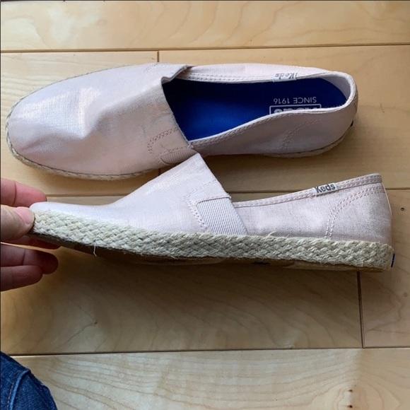 Keds Shoes - Keds Jute Espadrille Slip On Shoes